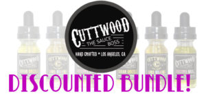 CUTTWOOD 3 BOTTLE BUNDLE PACK!