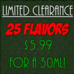 Limited 25 Clearance Flavors