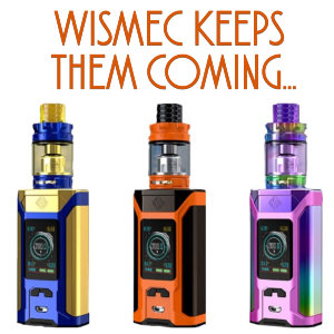 Wismec Keeps Them Coming!