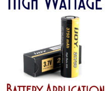 High Wattage/Low Ohm Batteries
